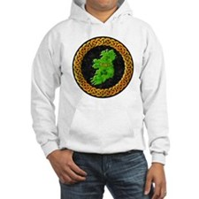 celtic-ireland-map Hoodie
