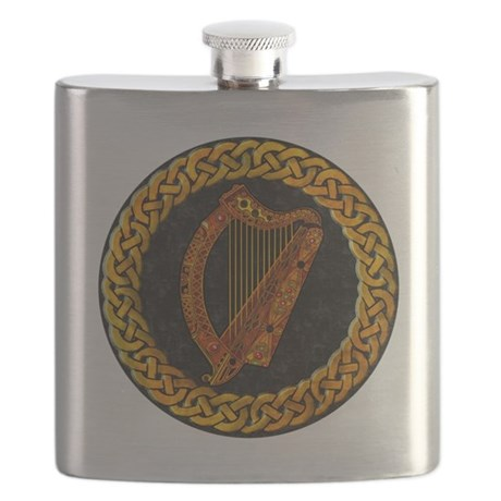 CELTIC-HARP Flask