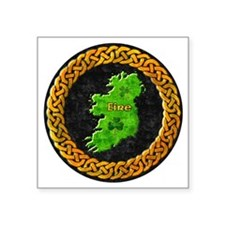 "celtic-ireland-map Square Sticker 3"" x 3"""