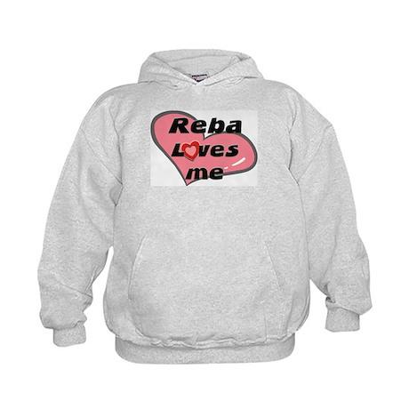 reba loves me Kids Hoodie