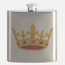 Crown - Royal Flask