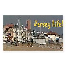 Jersey Life Postcard Decal