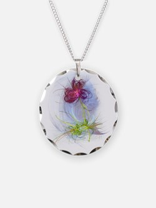 fractal flower Necklace