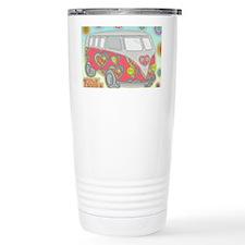VWVan60sGroovyGlassPrint Travel Mug