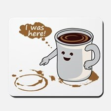 Coffee stain Mousepad