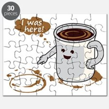 Coffee stain Puzzle