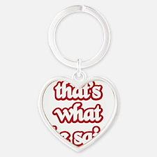 Thats Heart Keychain