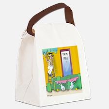 7304_lab_cartoon Canvas Lunch Bag