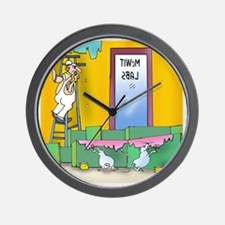 7304_lab_cartoon Wall Clock