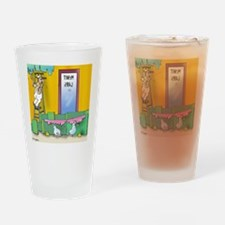 7304_lab_cartoon Drinking Glass