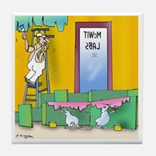 7304_lab_cartoon Tile Coaster