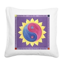 cafepressvioletfire Square Canvas Pillow