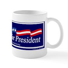 Clark for pres bumper sticker_edited-1 Small Small Mug