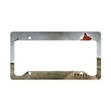 Kismet wallpaper License Plate Holder