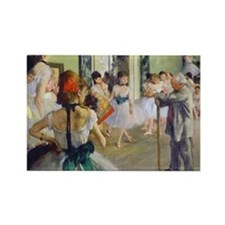 Bag Degas DanceClass Rectangle Magnet