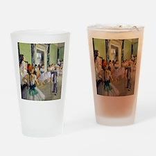 FF Degas DanceClass Drinking Glass