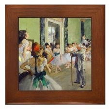 FF Degas DanceClass Framed Tile