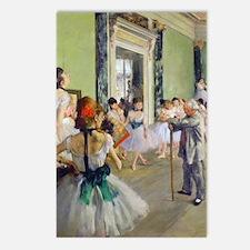 FF Degas DanceClass Postcards (Package of 8)