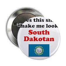 """South Dakota L 2.25"""" Button"""