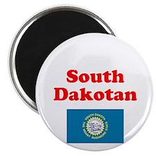 South Dakota D Magnet