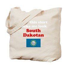 South Dakota D Tote Bag