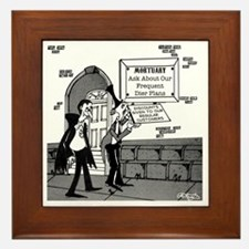 5199_mortuary_cartoon Framed Tile