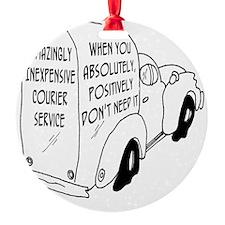 6473_truck_cartoon Ornament