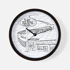 5528_China_cartoon Wall Clock
