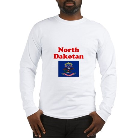 North Dakota D Long Sleeve T-Shirt