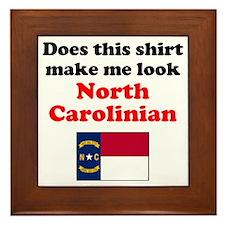 North Carolina L Framed Tile