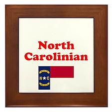 North Carolina D1 Framed Tile