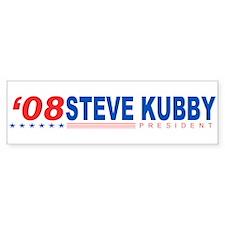 Steve Kubby 2008 Bumper Bumper Sticker