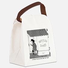 5862_book_cartoon Canvas Lunch Bag