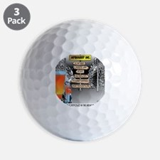 8480_quarry_cartoon Golf Ball
