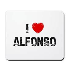 I * Alfonso Mousepad