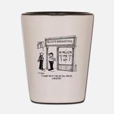 1950_locksmith_cartoon Shot Glass