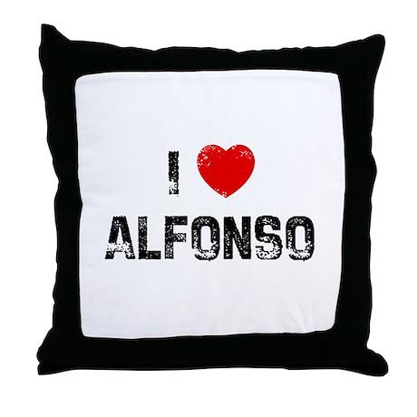 I * Alfonso Throw Pillow