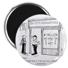 1950_locksmith_cartoon Magnet