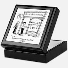 1950_locksmith_cartoon Keepsake Box