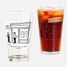 1950_locksmith_cartoon Drinking Glass