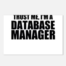Trust Me, I'm A Database Manager Postcards (Pa