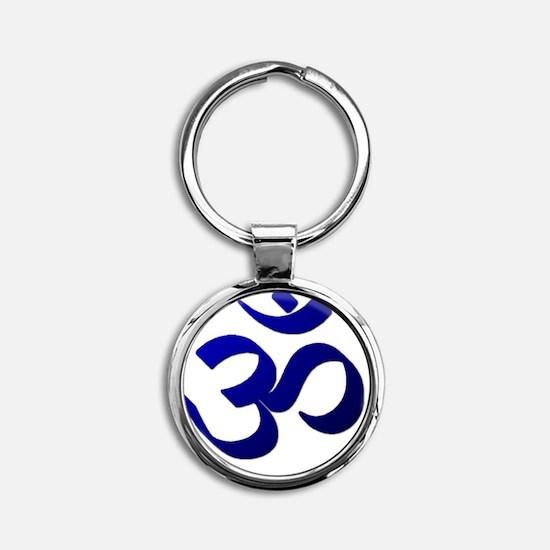 Ohm10 Round Keychain