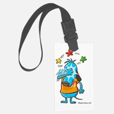 Knock On Wood-Color-No Text Luggage Tag