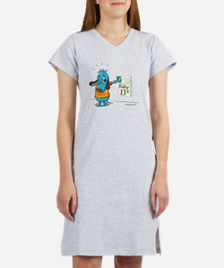 Friday 13th-Color Women's Nightshirt