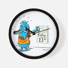 Friday 13th-Color Wall Clock