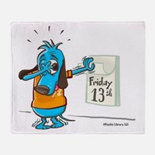 Friday 13th-Color Throw Blanket