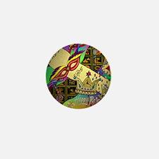 HappyPurimSquare Mini Button