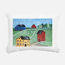 Quiet Summer Morning Rectangular Canvas Pillow