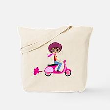 scootgirl Tote Bag
