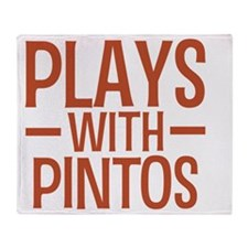 playspintos Throw Blanket